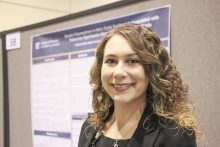 Pharmacy student presents poster at ASHP