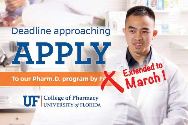 Pharm.D. application deadline extended