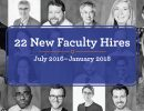 22 new faculty image