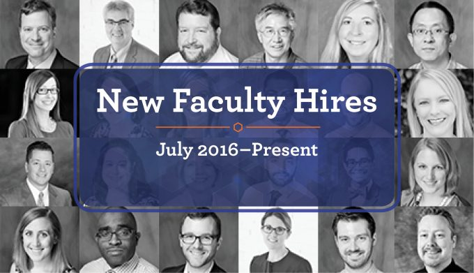 24 new faculty hires headshots