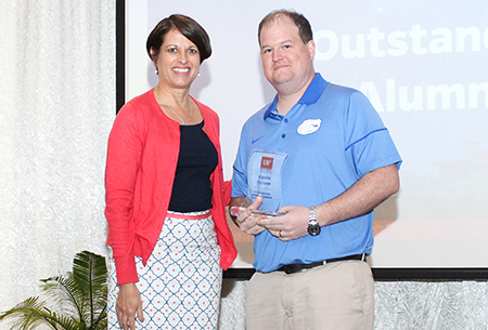 Dr. Kevin Duane honored with UF Outstanding Young Alumni Award