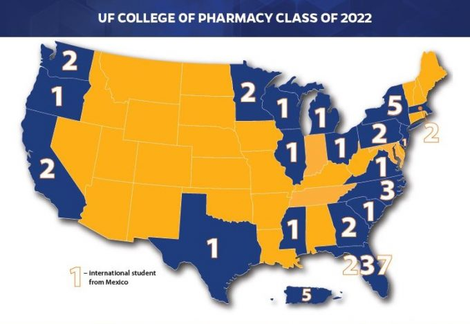 Class of 2022 Map