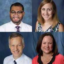 Clinical assistant professors John Allen, Pharm.D., and Bethany Shoulders, Pharm.D., and clinical associate professors Stacy Voils, Pharm.D., and Carinda Feild, Pharm.D., had their septic shock research published in the Annals of Pharmacotherapy.