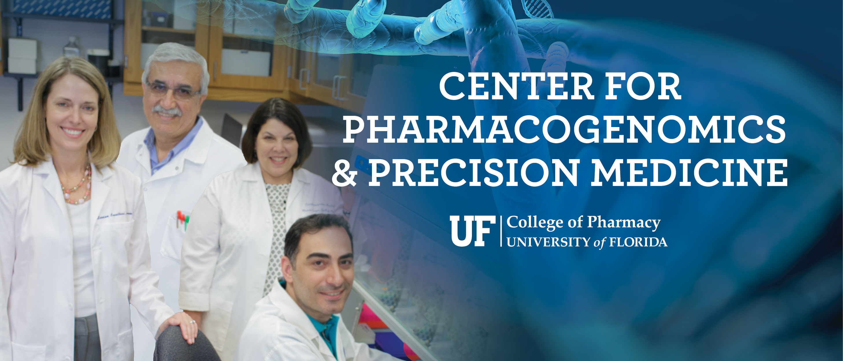 Center for Pharmacogenetics and Precision Medicine banner