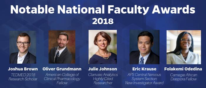Faculty Awards 2018
