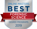 UF named as the Best Online Master's in Forensic Science Program by OnlineMasters.com