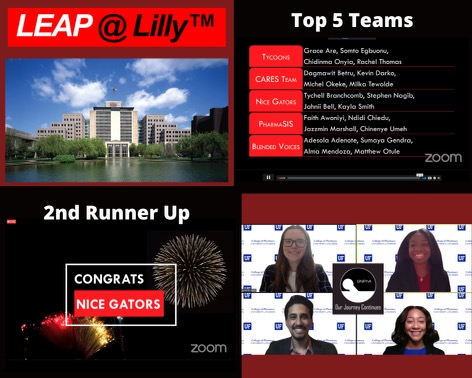 LEAP at Lilly business competition screenshot