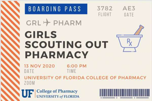 Girls Scouting Out Pharmacy