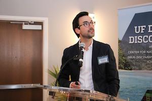 Sebastiano Intagliata, Ph.D., a medicinal chemistry postdoctoral associate, won the award for the best postdoc oral presentation.