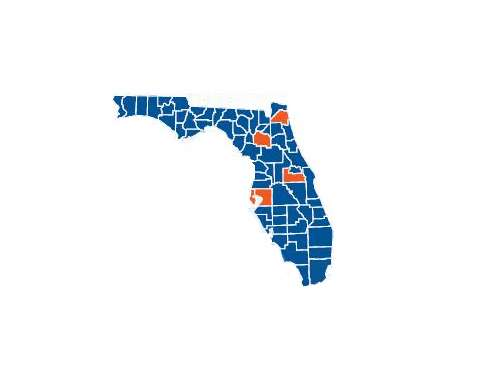 Top Florida Counties
