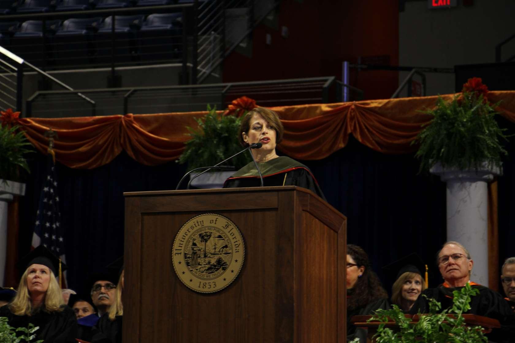Dean Johnson Commencement 2017