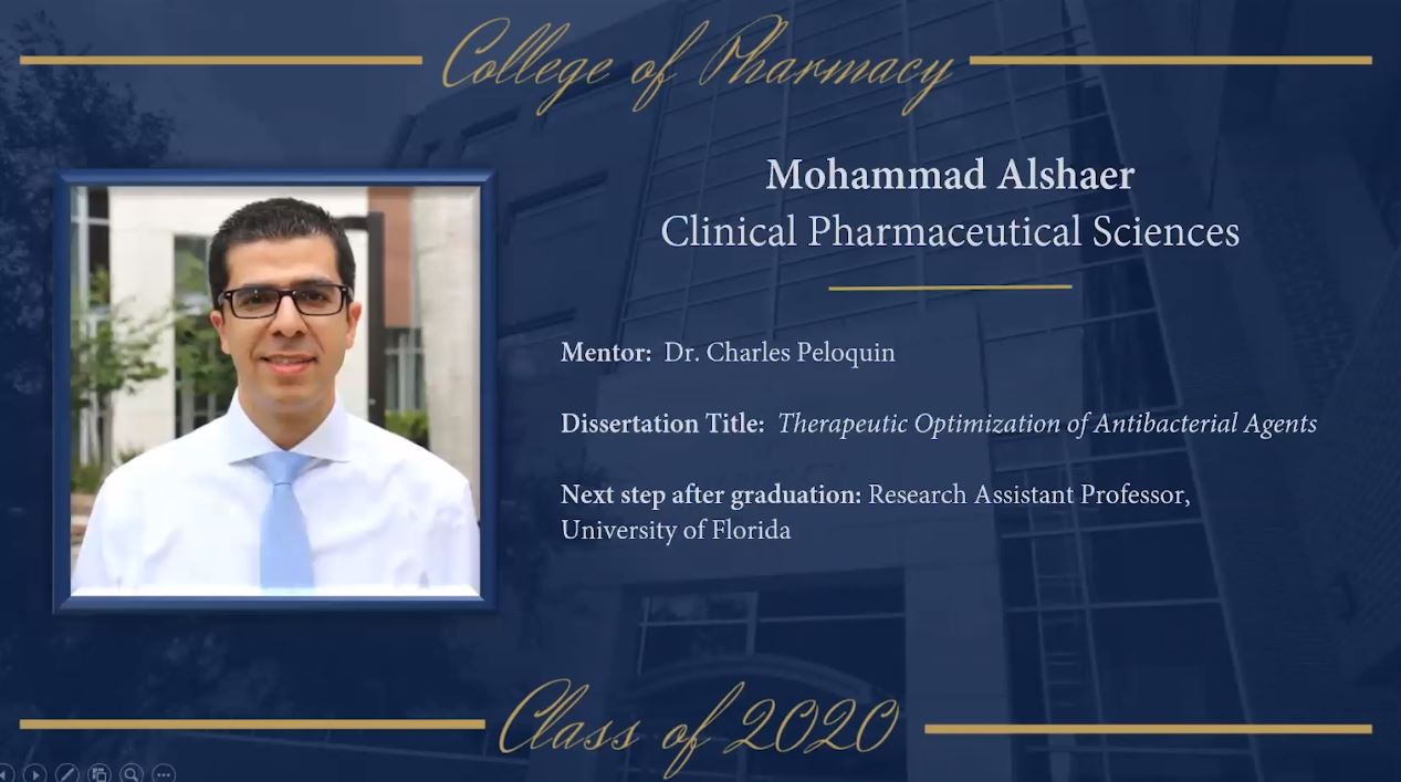 2020 Summer Commencement Ph.D.