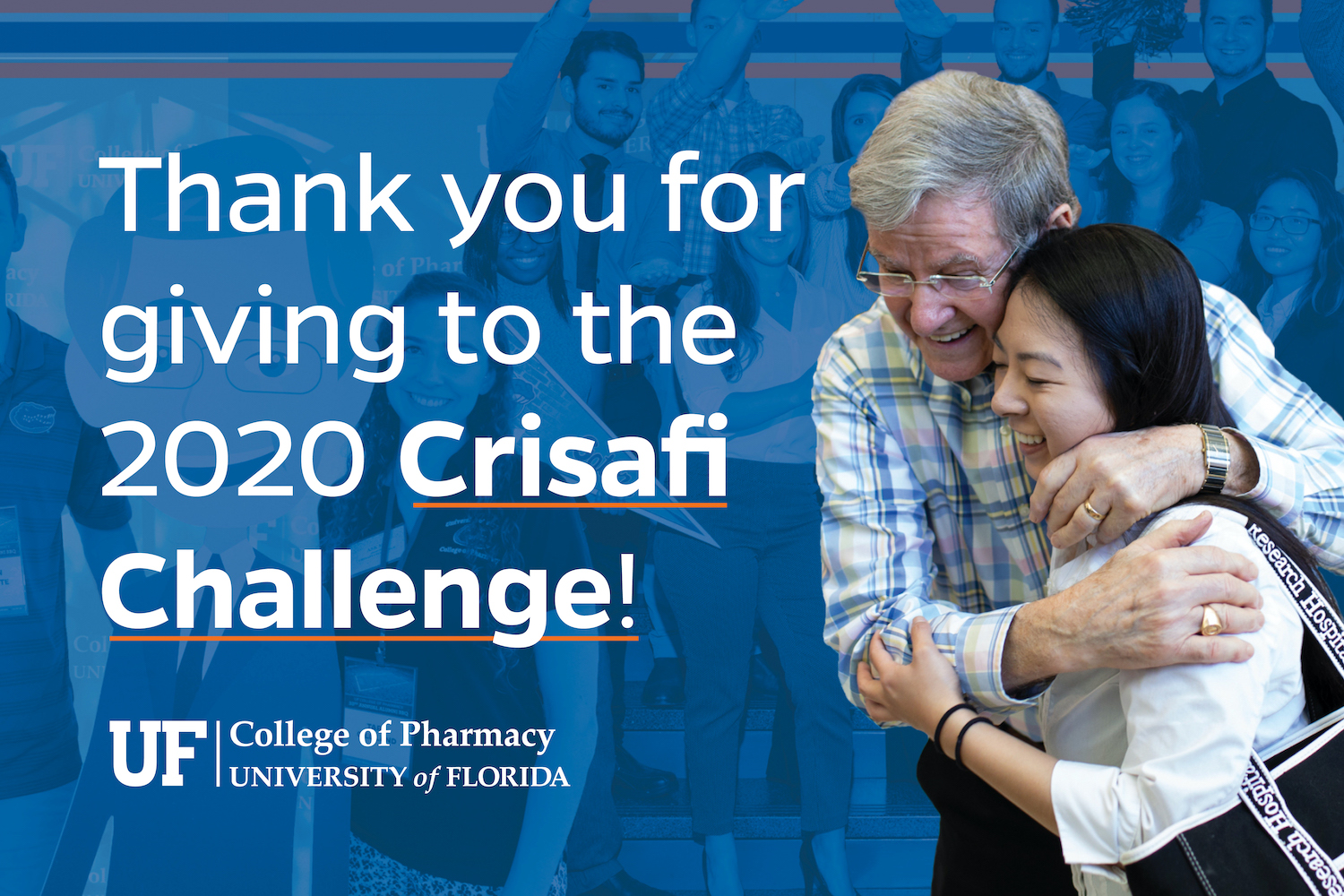 Thank you for giving to the 2020 Crisafi Challenge.