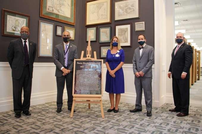 FPA Plaque Dedication - Jacksonville
